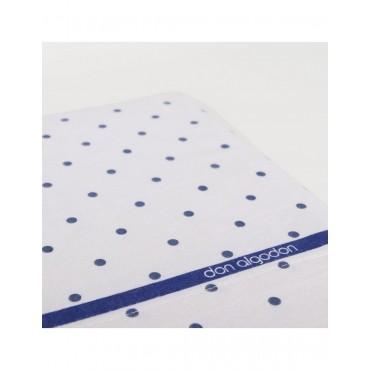 Juego sábanas franela Basseta azul (Don algodón) cama 150