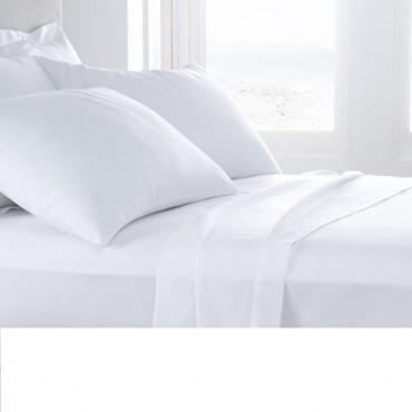 Juego de sábanas 100% algodón hosteleria ABECE CASA